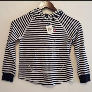 Polo Ralph Lauren Factory stripe hoodie girls sz 6